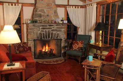 [Welcoming and Authentic, Oakland House Cottages by the Side of the Sea at Herricks Landing, Eggemoggin Reach, Brooksville, Maine. There are 50 private acres and 10 Maine cottages.]